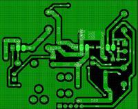 Zakłócenia w napięciu wyjściowym przetwornicy 15 / + - 5V.