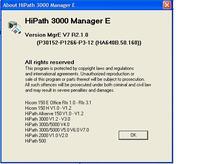 Siemens HiCom 150E / HiPath 3000 Manager E
