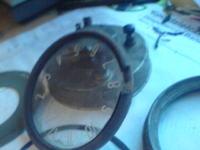 Renowacja zegara od samochodu.