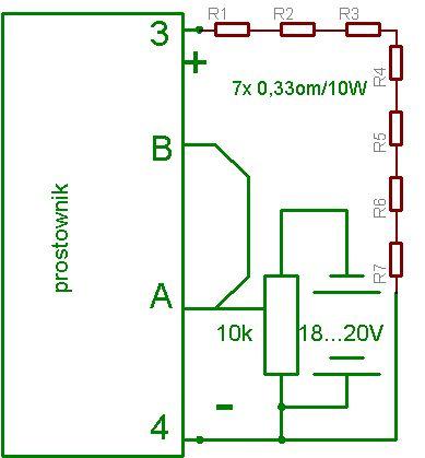 Prostownik do ładowania akumulatorów (auto)
