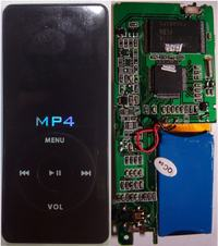 MP4 Digital Audio Player wyrwane gniazdo usb
