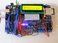 Własna płytka testowa - AVR - dużo możliwości/zastosowań