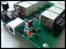 Karta przekaźnikowa na USB by popak
