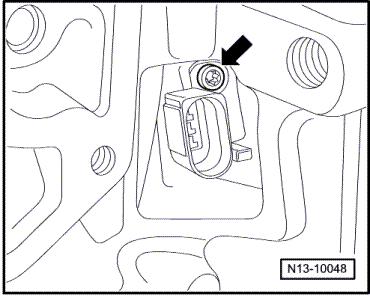 Touran 1.9 TDI wymiana czujnika położenia wału