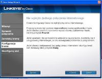 Brak po��czenia z internetem routera Linksys WAG120N