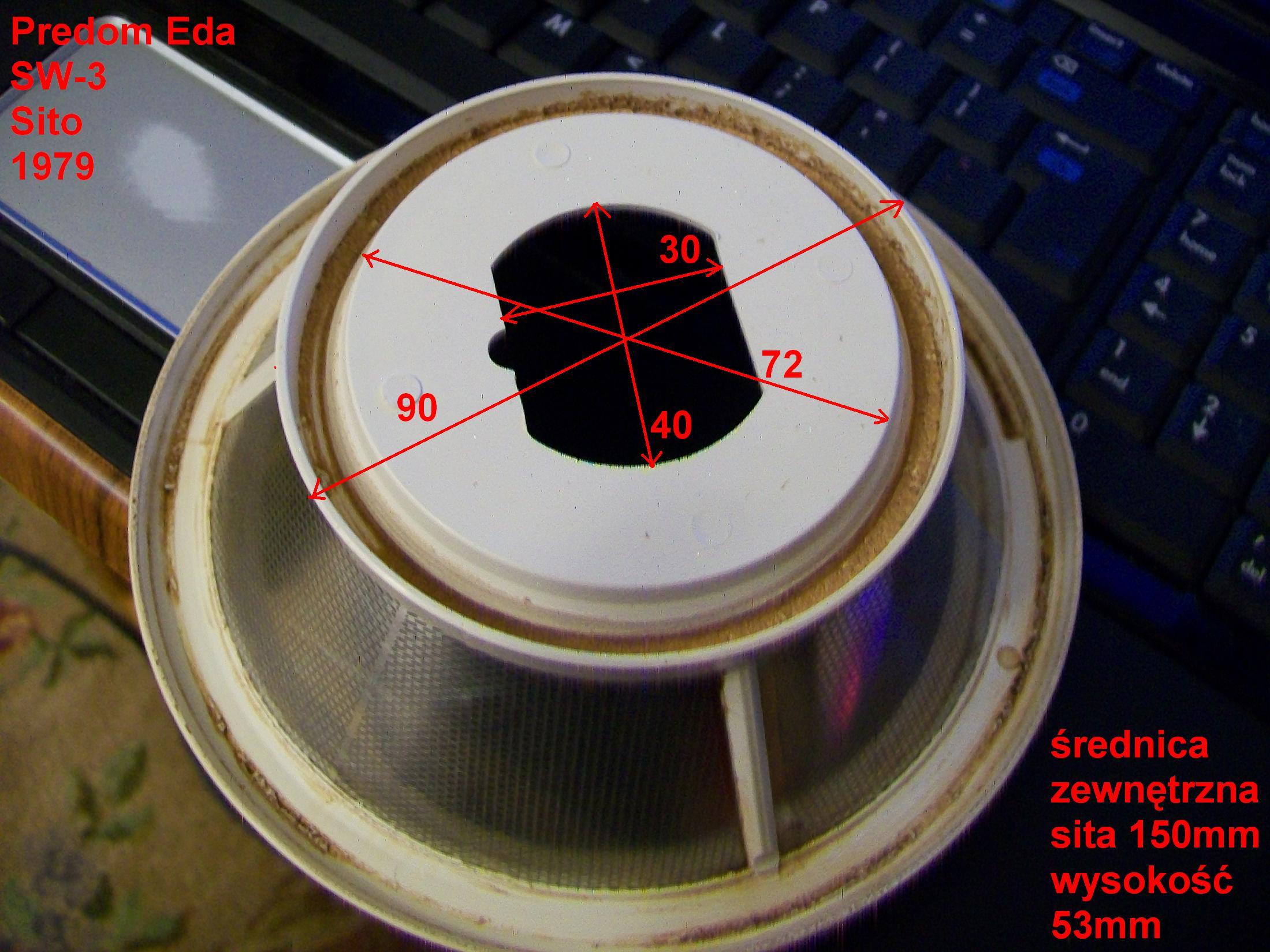 SKS 10 sokowirówka potrzebna część elektroda.pl
