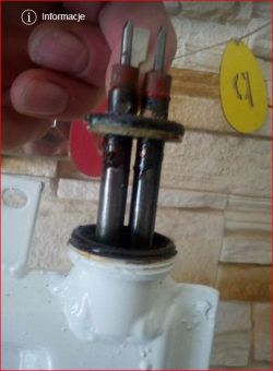 Grzejnik panelowy olejowy therma (grzałka).