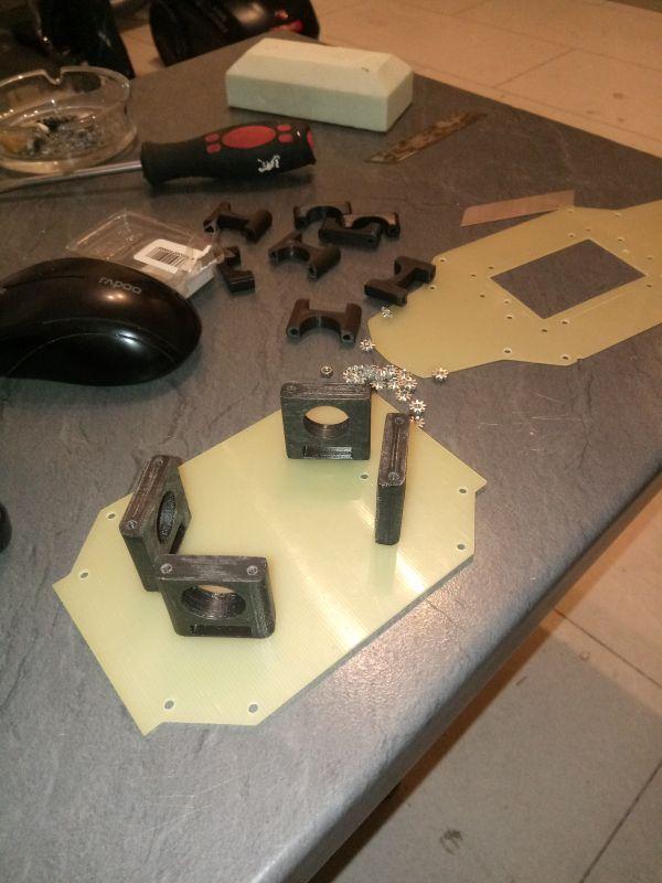 Projekt duży i mocny dron od podstaw.
