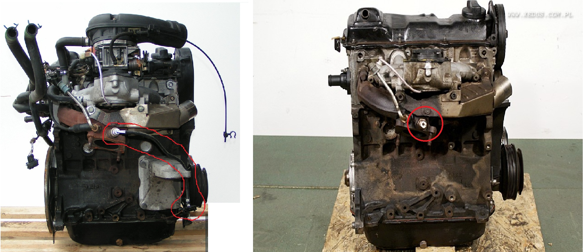 Golf 3 1993 1.8 ABS - identyfikacja odpi�tych/przerwanych kabli/wtyczek