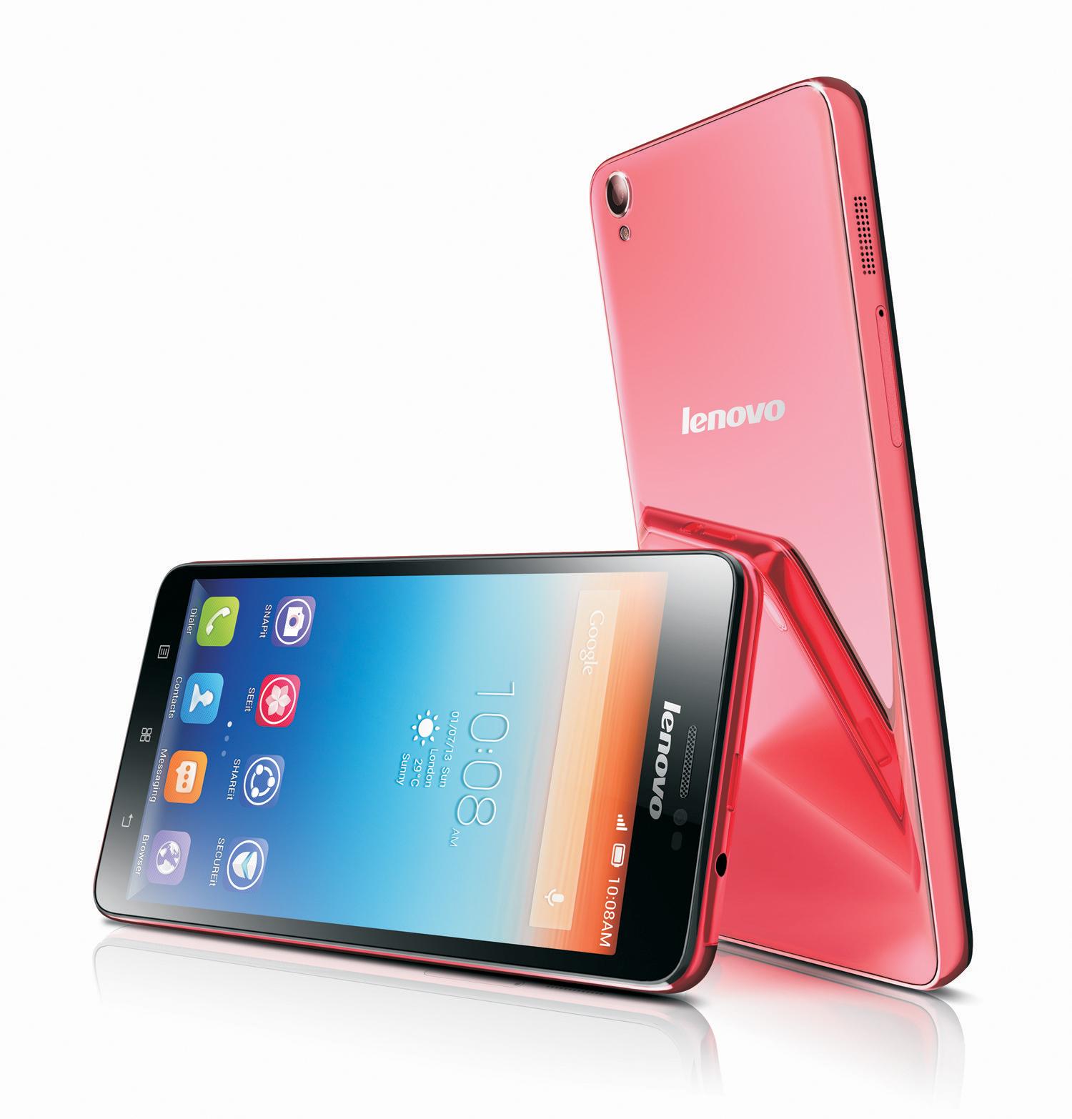 """Lenovo S850 - �redniej klasy smartphone z 5"""" ekranem 4-rdz. procesorem"""