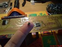 Zegar matrycowy 8x80 + termometr oraz datownik z imieninami