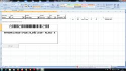 Generowanie kodu kreskowego w Excelu błąd podczas generowania