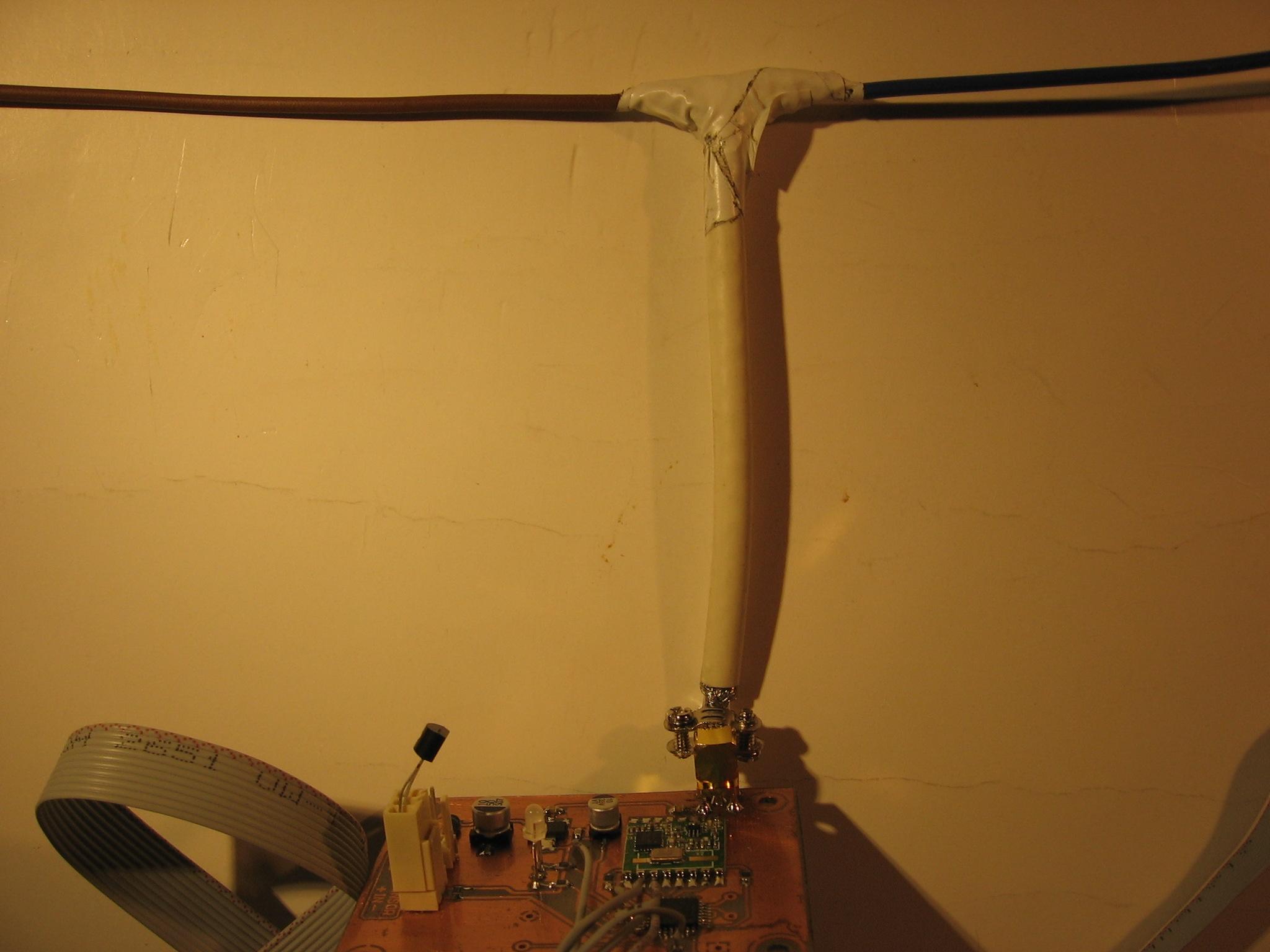 Antena do RFM22B-S a antena RFM12B 868MHz?