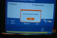 Ariva 200 Combo - jak uzyskać sygnał DVB-T. Nie znaleziono kanału.