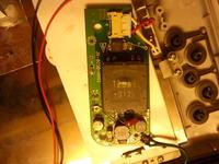 uszkodzony element telewizorek do kamery