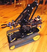 Smart robotyczne mobilne ramię