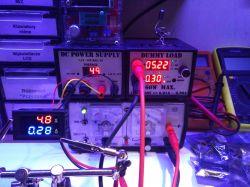 Panelowy miernik cyfrowy - Woltomierz/Amperomierz - made in China.