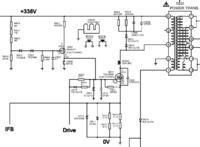 LCD Funai 29FL553P/10 - Uszkodzony zasilacz