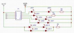 układ sterujący diodami - jak dobrać elementy?