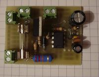 Soft start do żarówek 230V.