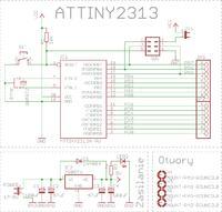 Pytanie - ATTINY2313 PCB do zabawy.