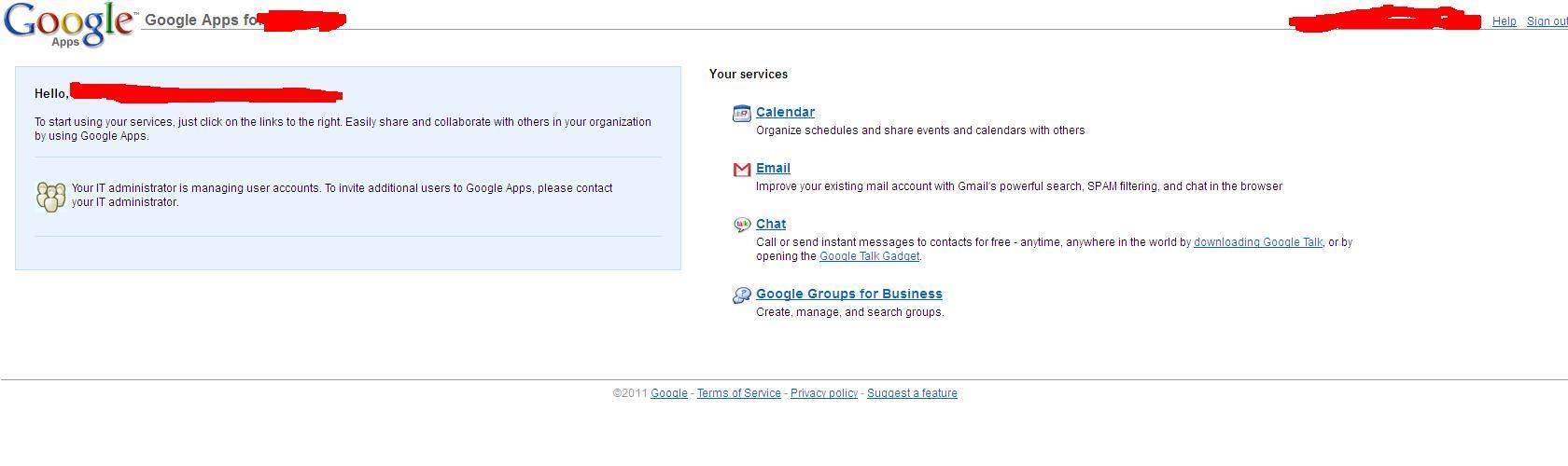 poczta w�asnej domeny przy obs�udze google mail