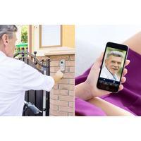 Jak zabezpieczyć wejście do domu lub mieszkania Wideodomofon IP Basetech