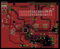 [ATMega168] Prośba o sprawdzenie schematu i PCB