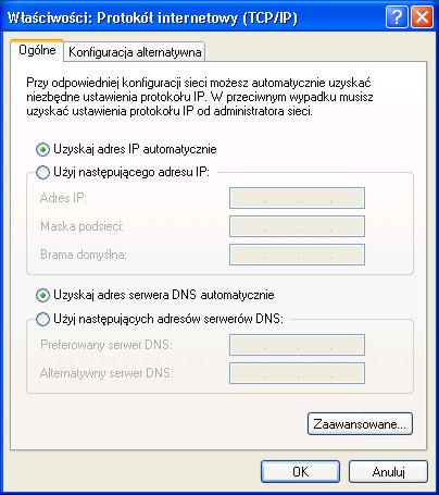 Modem,Problem - Klient DHCP nie pobiera adresu sieciowego MODEM!!