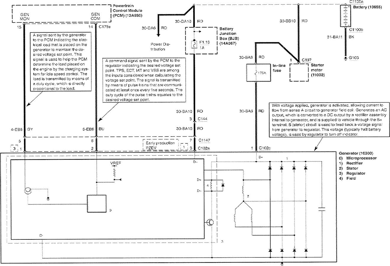 ford focus alternator magneti marelli 63321678 jakie diody ford focus alternator magneti marelli 63321678 jakie diody prostownicze