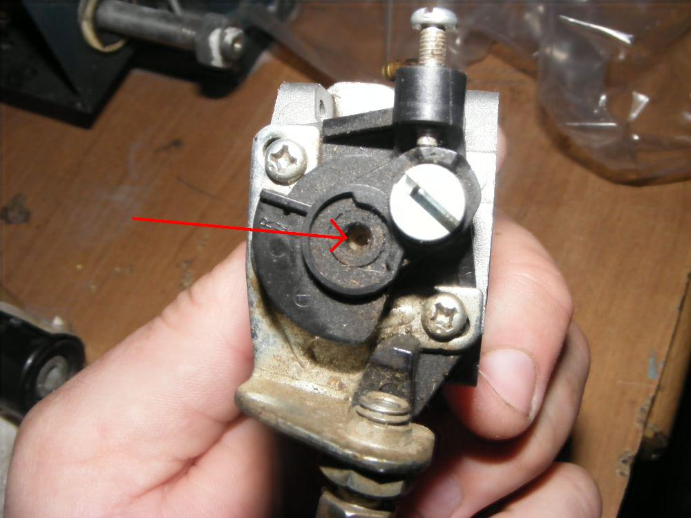 Kosa Kawasaki KBH34A - nie wchodzi na obroty