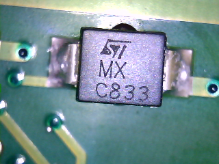 C833 MX ST - co to za element?