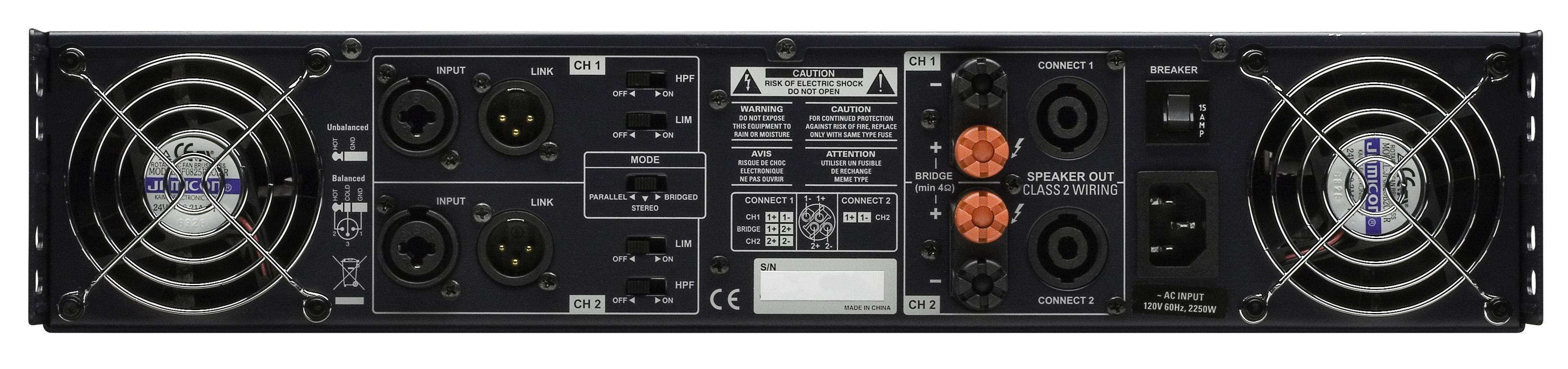 [Sprzedam] Ko�c�wki mocy Cerwin Vega CV-2800!