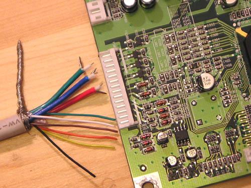 Fujitsu Siemens CTM7011 B17AAU - kabel VGA