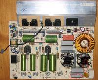 Modul Copreci IND5G-CF (płyta indukcyjna Whirlpool, Amica) - spalone elementy