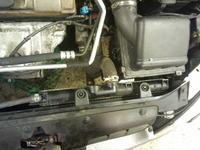Czujnik wentylatora i chłodnica Peugeot 206 1.1 benzyna 3 drz wersja bez klimy