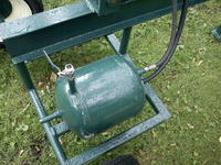 Hydrauliczny rębak do drewna