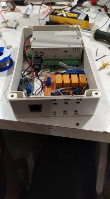 Sterownik rolet z wykorzystaniem PLC i HMI