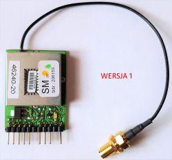 ZEGAR GPS z termometrem z wykorzystaniem ATmega +BASCOM + GPS Lassen iQ