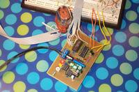 Przetwornica impulsowa sterowana mikroprocesorowo