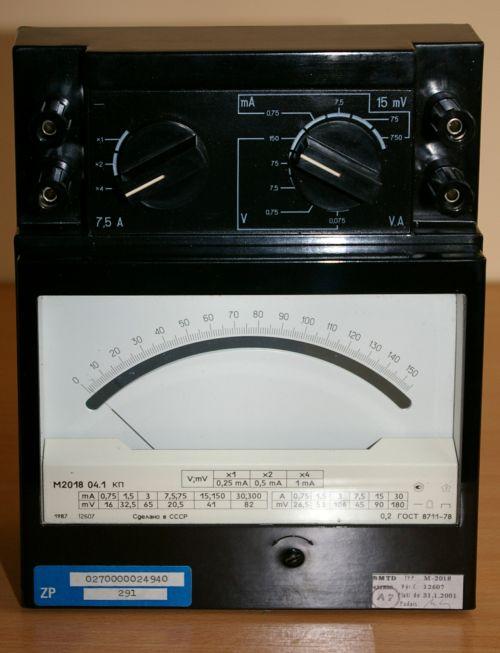 miernik M2018 instrukcja obs�ugi (RUS)