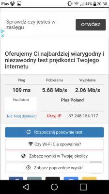 Kolejna umowa o internet LTE z Plusem