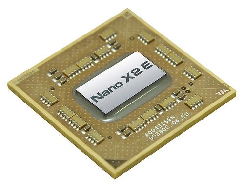 Nano X2 E - nowa generacja dwurdzeniowych procesorów Via Nano X2