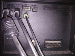 Kino domowe SAMSUNG HT-J4550 - Problem z podłączeniem do tv SAMSUNG LE40D503F7W