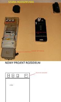 """Wycena i projekt rozdzielni w domku rodzinnym przez """"fachowc�w""""."""