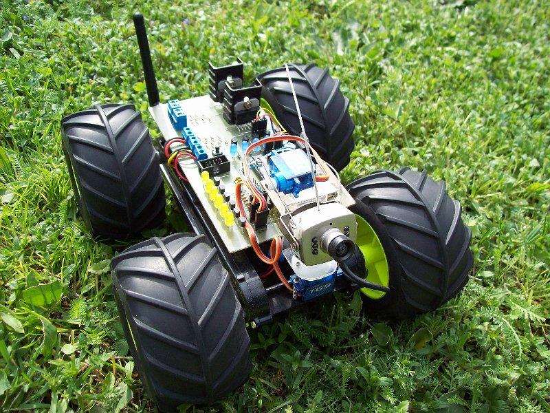 Bluerider - samobie�ny pojazd sterowany przez bluetooth