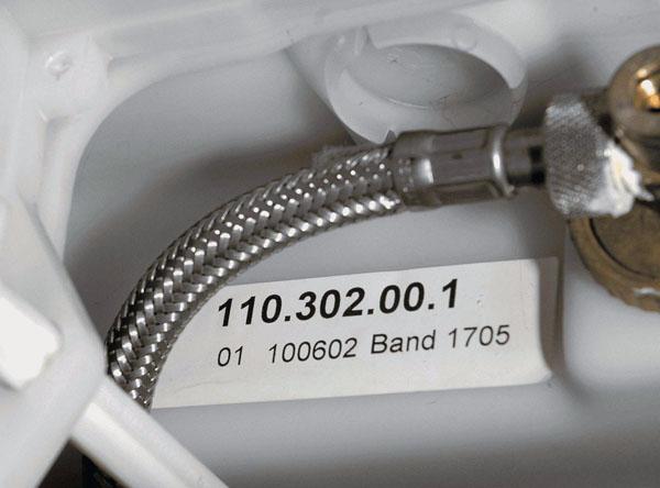 Geberit WC - zaw�r spustowy dwudzielny art. nr 240.622.00.1 - niesprawny