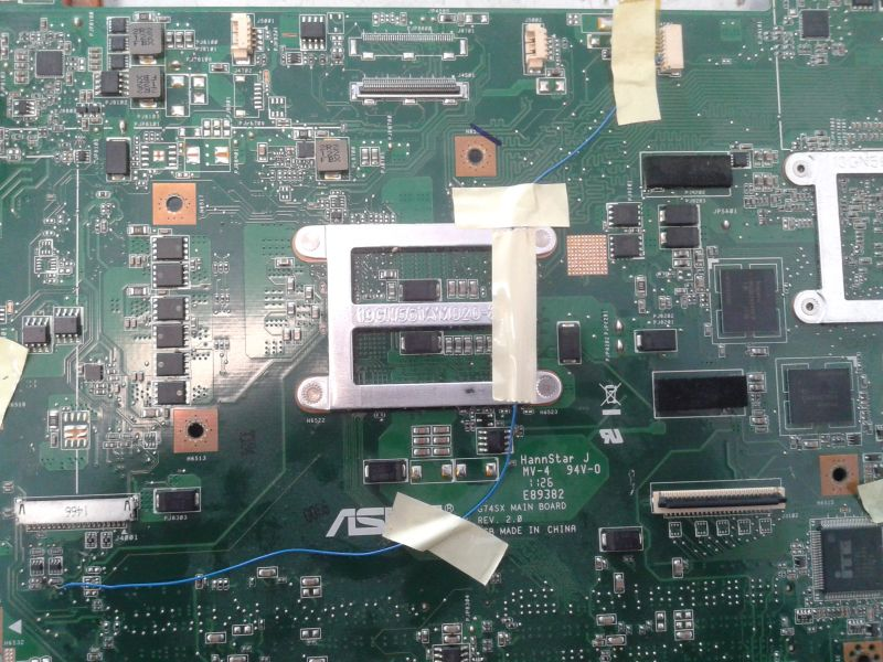 laptop Asus G74SX nie działa CTRL