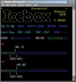 Termostat do lodówki z wieloma zbędnymi funkcjonalnościami *Icebox thermostat*