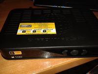 KomSat M100 - Cyfrowy polsat - talerz i konwerter od telewizji N